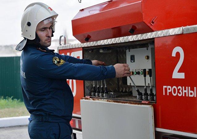 Empresa siberiana fabricará carros de bomberos usando módulos de tanques