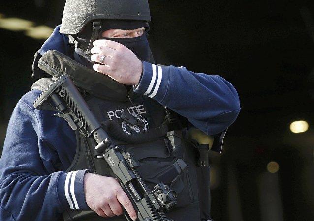 Policía de Bélgica (archvio)