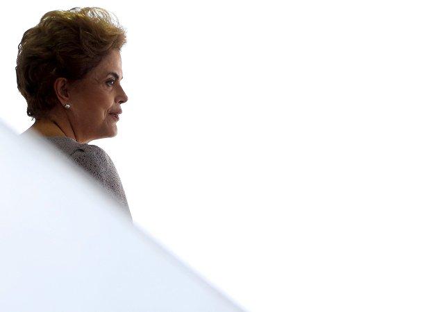 Dilma Rousseff, expresidente de Brasil (archivo)