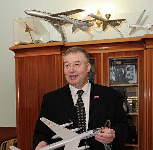 Anatoli Gueráschenko, rector del Instituto de Aviación de Moscú (MAI, por sus siglas en ruso)