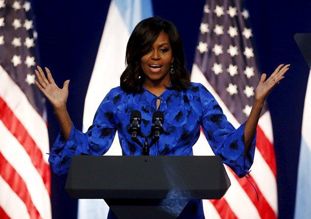 Michelle Obama, la primera dama de EEUU
