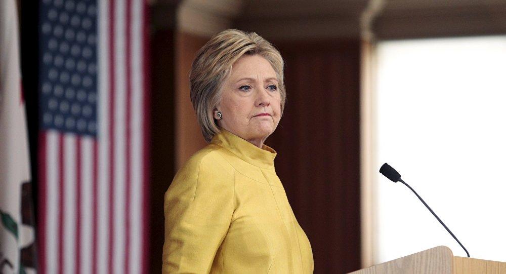 Hillary Clinton, precandidata a la presidencia de EEUU