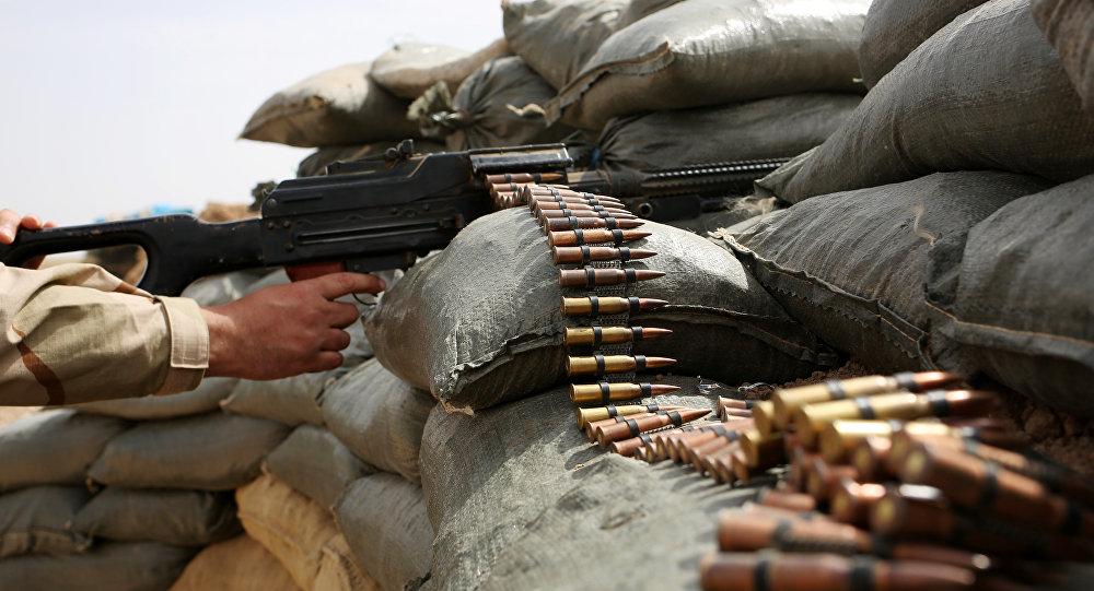 Lucha de Irak contra Daesh cerca de Mosul