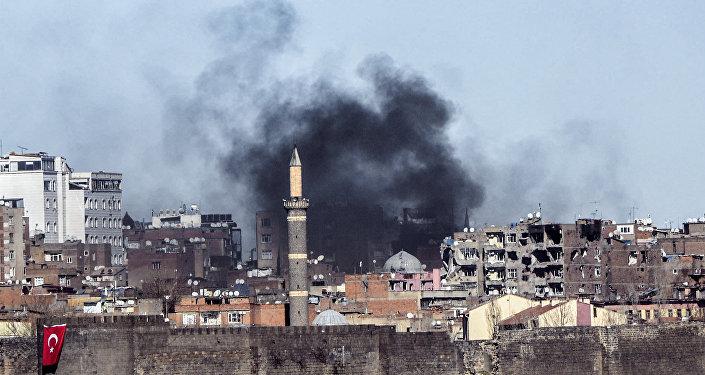 Enfrentamientos entre los kurdos y las fuerzas turcas (archivo)