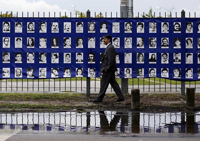 Fotos de las víctimas de la dictadura argentina (archivo)