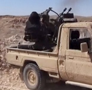 Terroristas del grupo Daesh