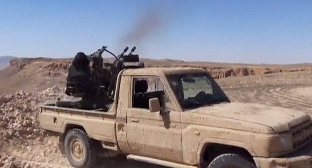 Terroristas del grupo Daesh (archivo)