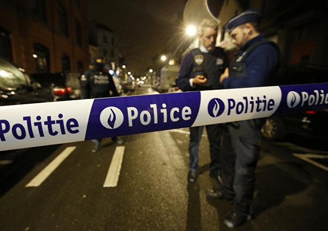 Redada policial en Bruselas tras los ataques terroristas en la capital belga