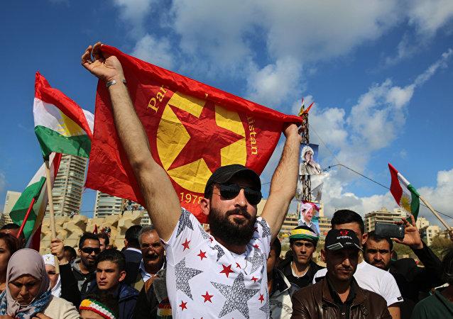 Kurdos sirios (imagen referencial)