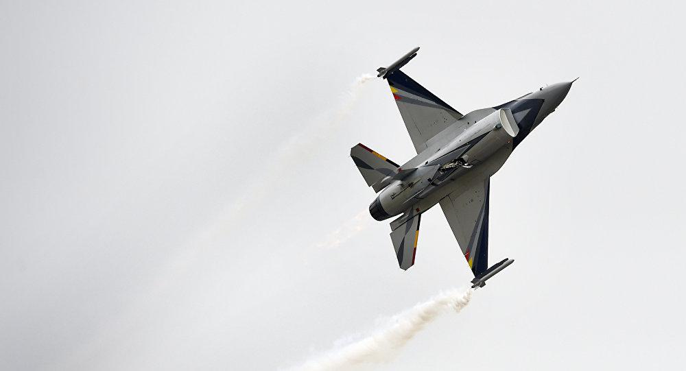 La fuerza aérea de Bélgica