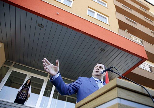 Milorad Dodik, el presidente de la República Srpska
