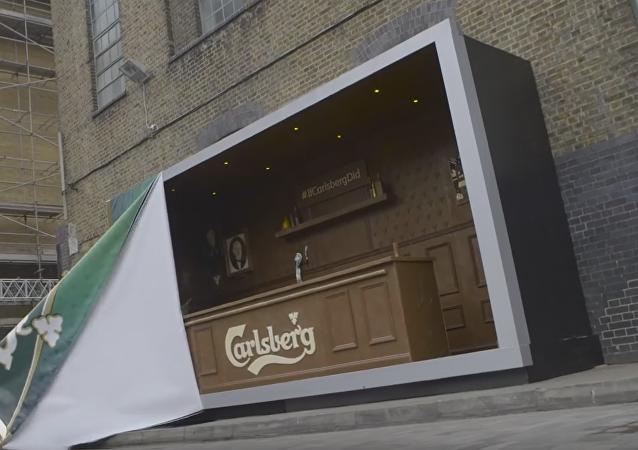Un bar hecho de chocolate en Londres