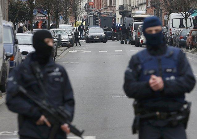 Policía belga