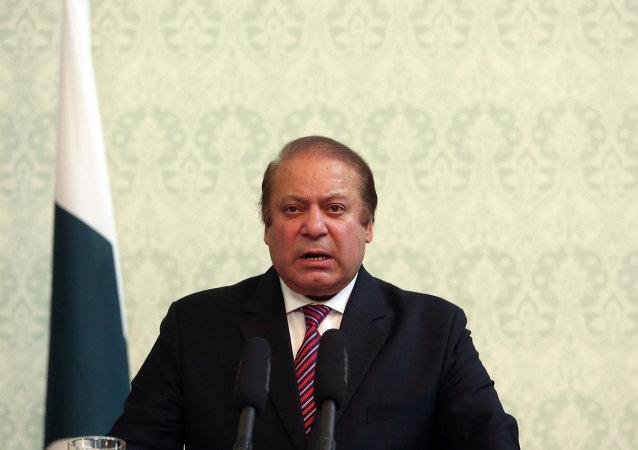 Nawaz Sharif, ex primer ministro de Pakistán