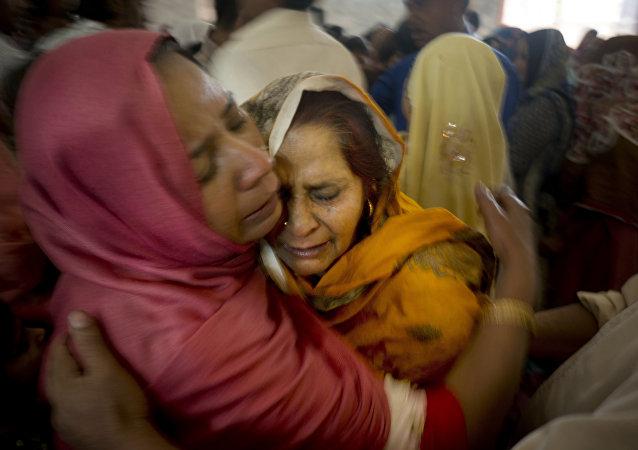 Mujeres cristianas de Pakistán