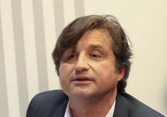 Otar Kushanashvili, el periodista ruso
