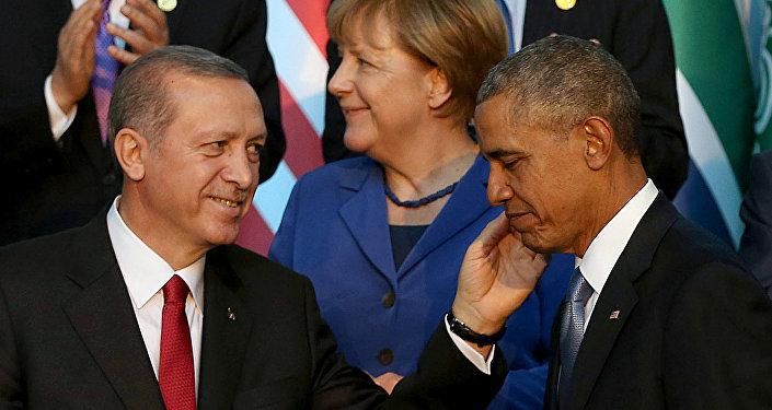 Recep Tayyip Erdogan y Barack Obama (Archivo)