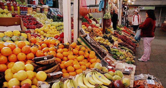Un mercado en Argentina