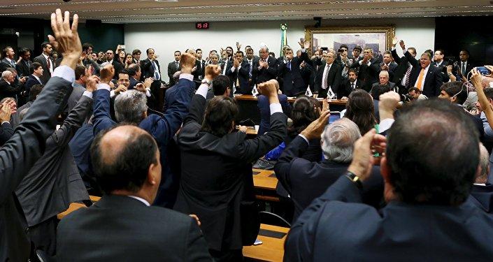 Miembros del Partido del Movimiento Democrático de Brasil