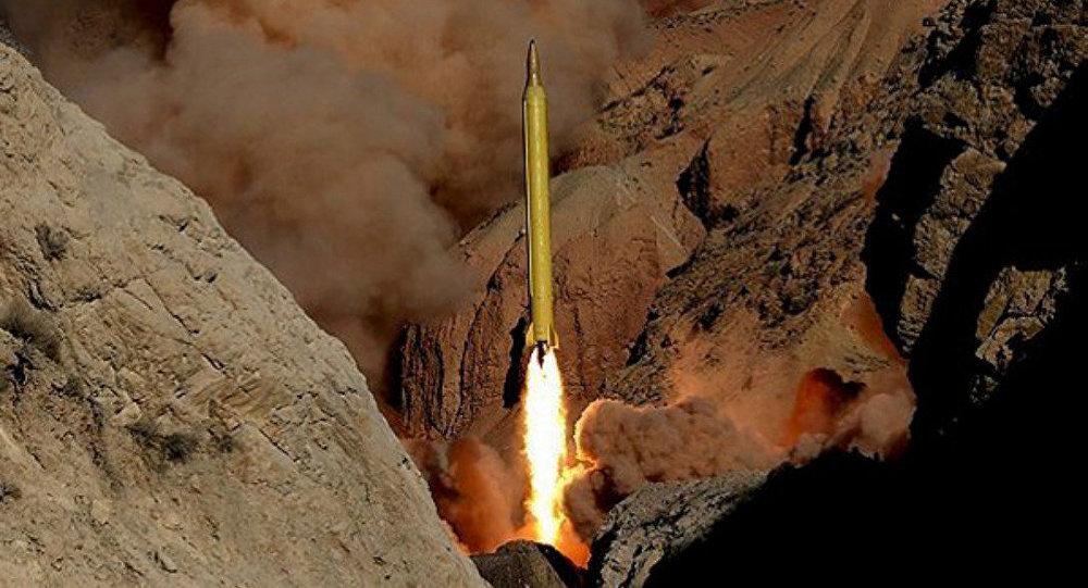 Misil balístico iraní (Archivo)