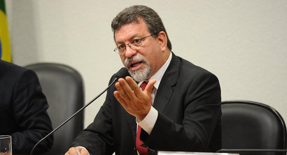 Afonso Florence, líder del PT en la Cámara de los Diputados