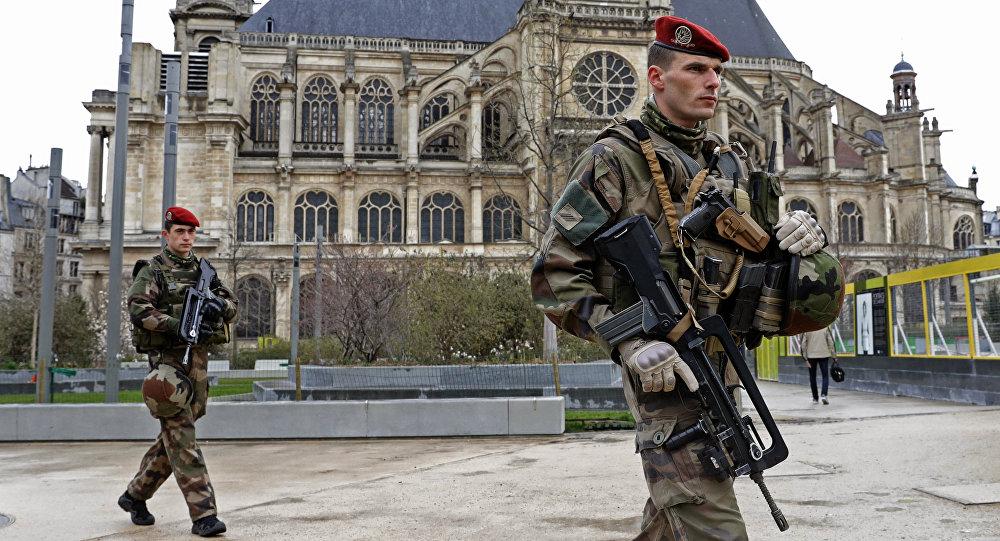 Militares franceses (archivo)