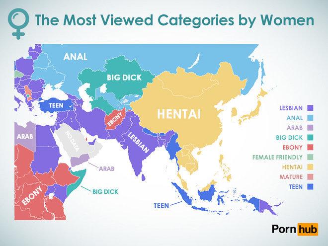Un mapa de las preferencias sexuales