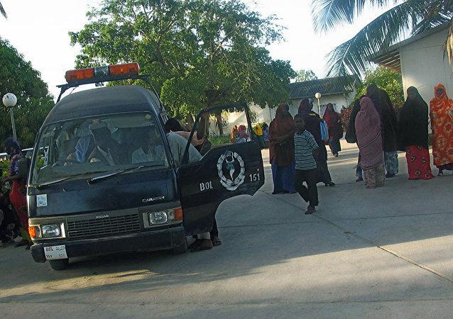 Policía de Mogadiscio, Somalia (archivo)
