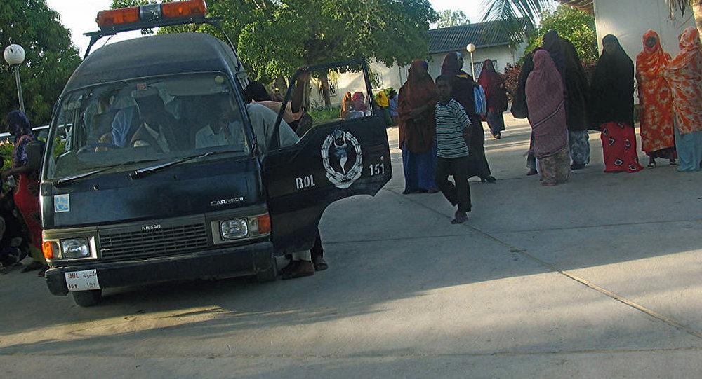 Ambulancia en Mogadiscio, Somalia (archivo)