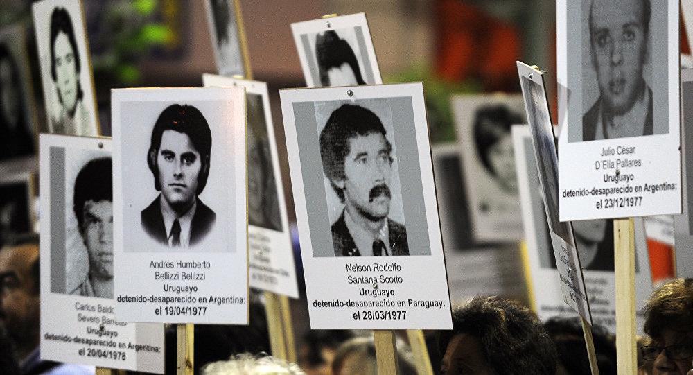Fotos de desaparecidos en dictadura, Uruguay