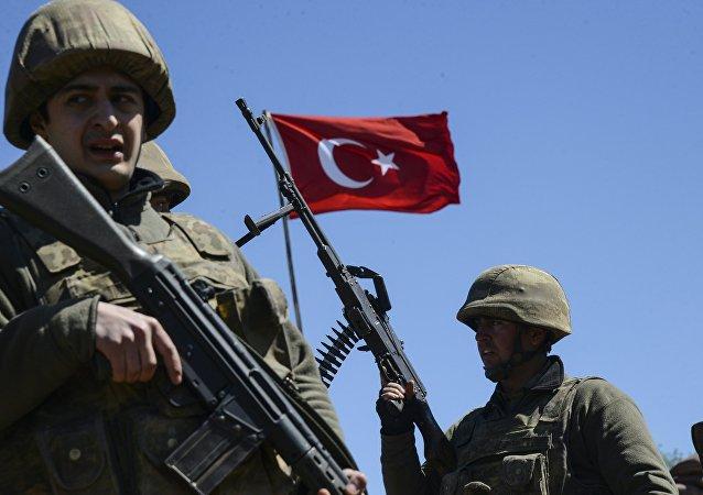 Soldados turcos (archivo)