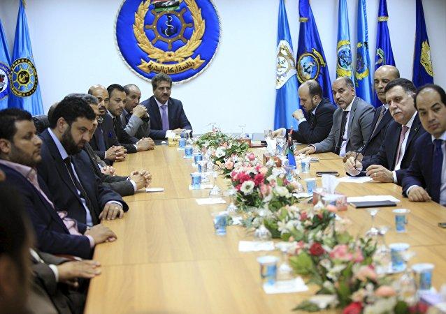 La reunión del Gobierno de Unidad Nacional de Libia