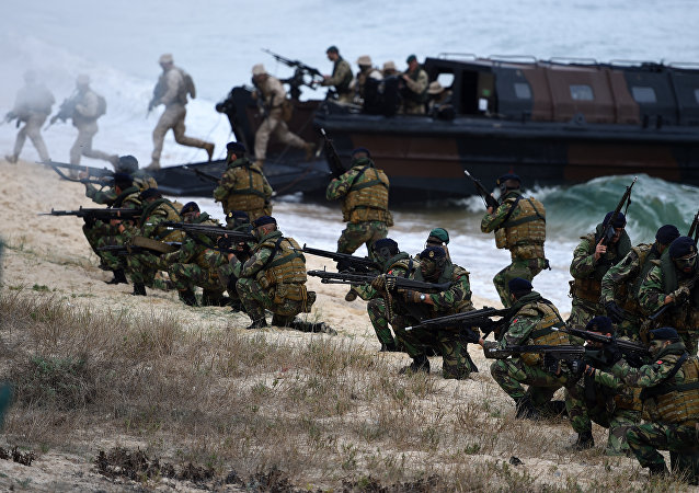 Las tropas de la OTAN en Portugal (archivo)