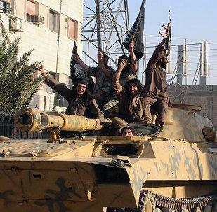 Militantes del Daesh en Raqa, Siria (archivo)