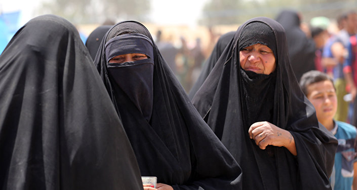 Mujeres en Faluya (archivo)
