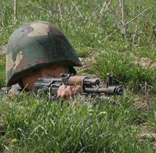 Soldado del Ejército de Nagorno Karabaj