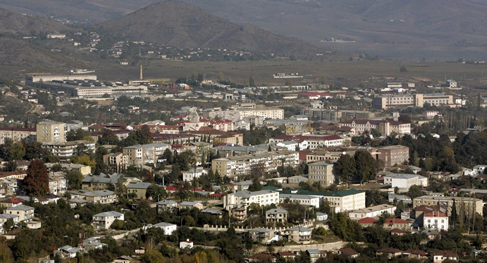 Stepanakert, capital de Nagorno Karabaj (archivo)