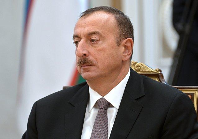 Iljám Alíev, el presidente de Azerbaiyán (archivo)