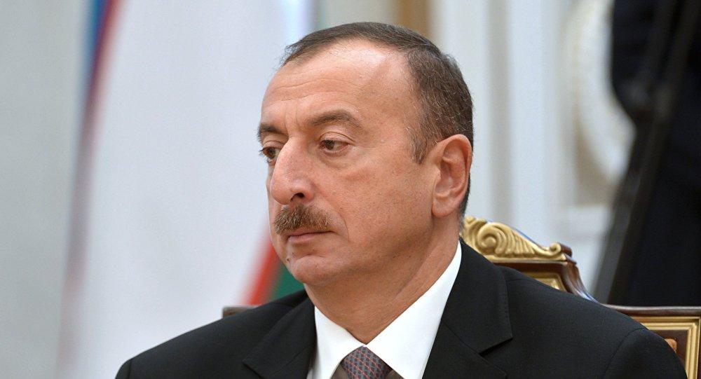 Ilham Aliev, presidente de Azerbaiyán