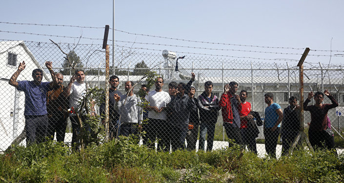 Refugiados en Grecia (Archivo)