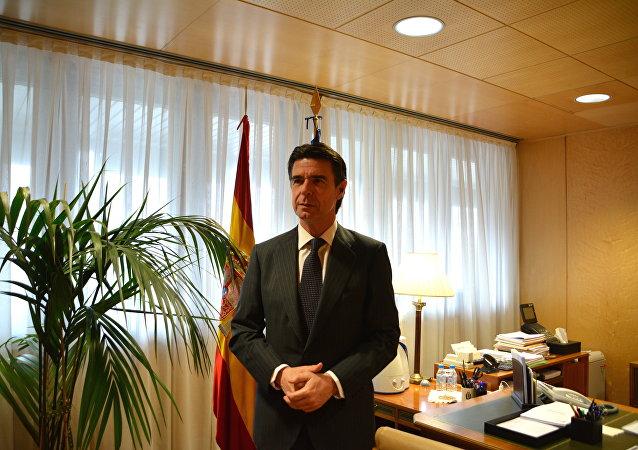 José Manuel Soria, ministro español de Industria, Energía y Turismo