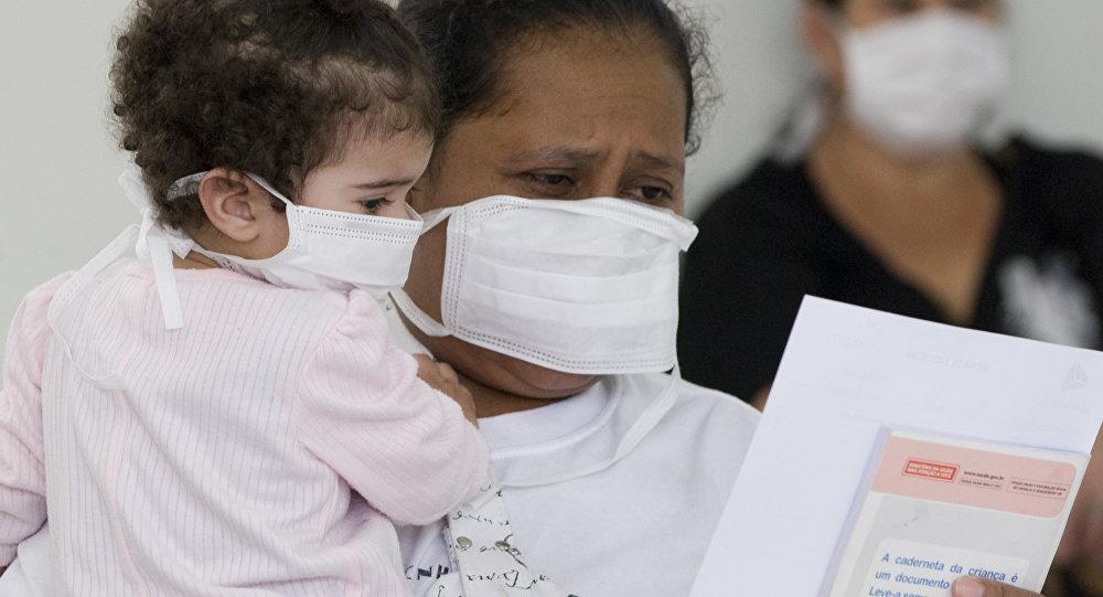 Epidemia de gripe H1N1 en Brasil (archivo)