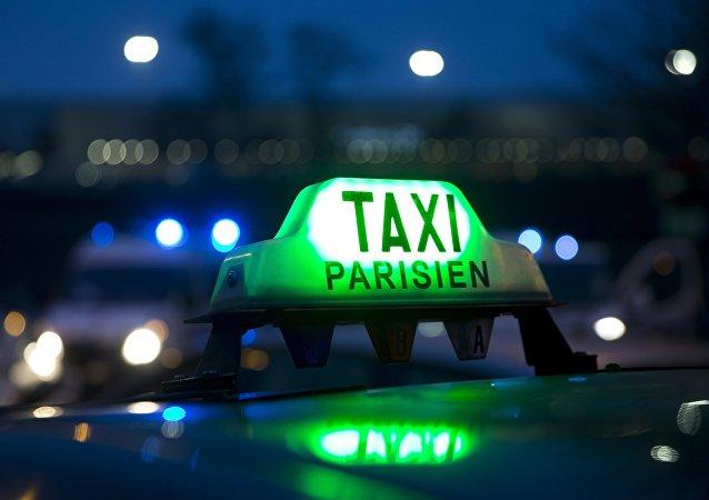 Taxi francés (archivo)