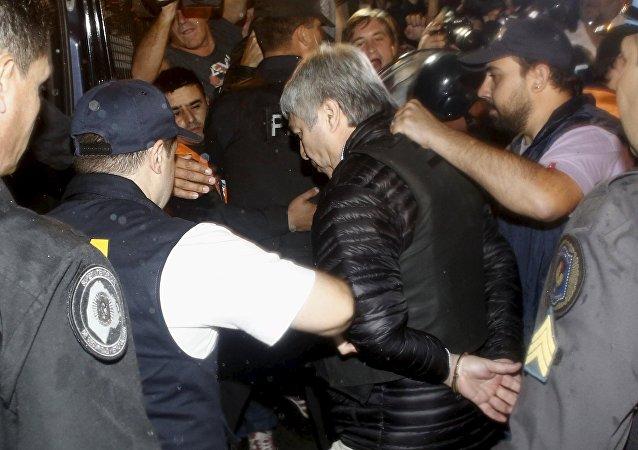 Detención de Lázaro Báez