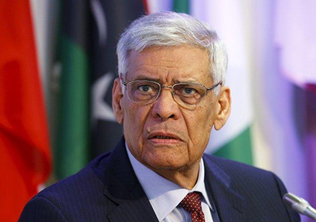 Secretario General de la OPEP, Abdallah Salem al Badri