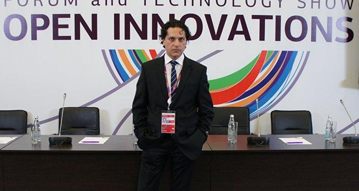 Vladímir Statur, director de la compañía Neuromatix