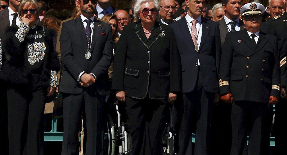 Pilar de Borbón, la tía del Rey de España