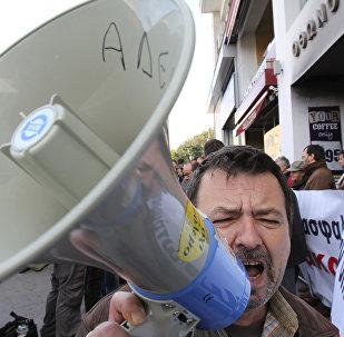 Protestas en Grecia (archivo)