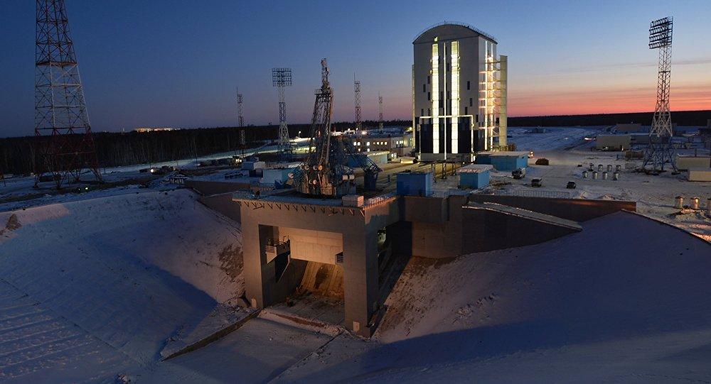 Cosmodromo Vostochny en la región de Amur