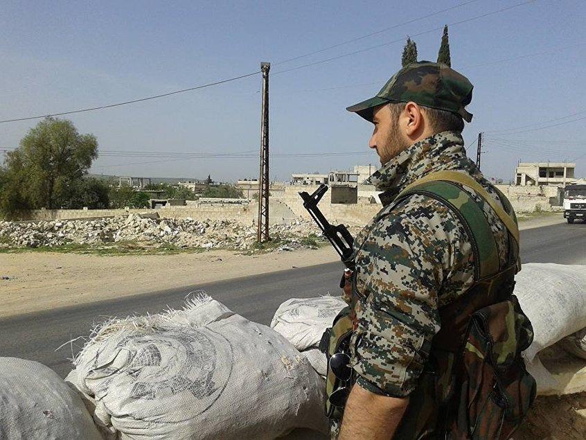 Khaldun Da'oun, soldado sirio.